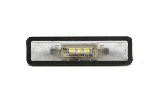 99–05 LED SMD Kennzeichenbeleuchtung Set mit 3 LED für Opel Zafira A Bj