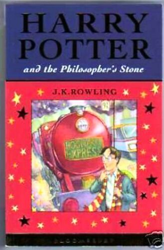 1 of 1 - HARRY POTTER & PHILOSOPHERS STONE UK FIRST EDITION 1ST PRINT Bloomsbury,