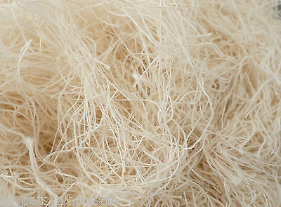 Hot Sale Natural Sharpie 250g,500g And 1kg Nesting Material 100g cut Cotton