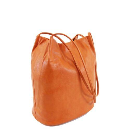 Ladies Plain Shoulder Bag Snap Closure Large Size Long Shoulder Straps 2030