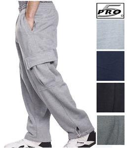 Pro 5 Fleece Cargo Sweat Pants Sweats FREE SHIPPING Proclub Tall ...