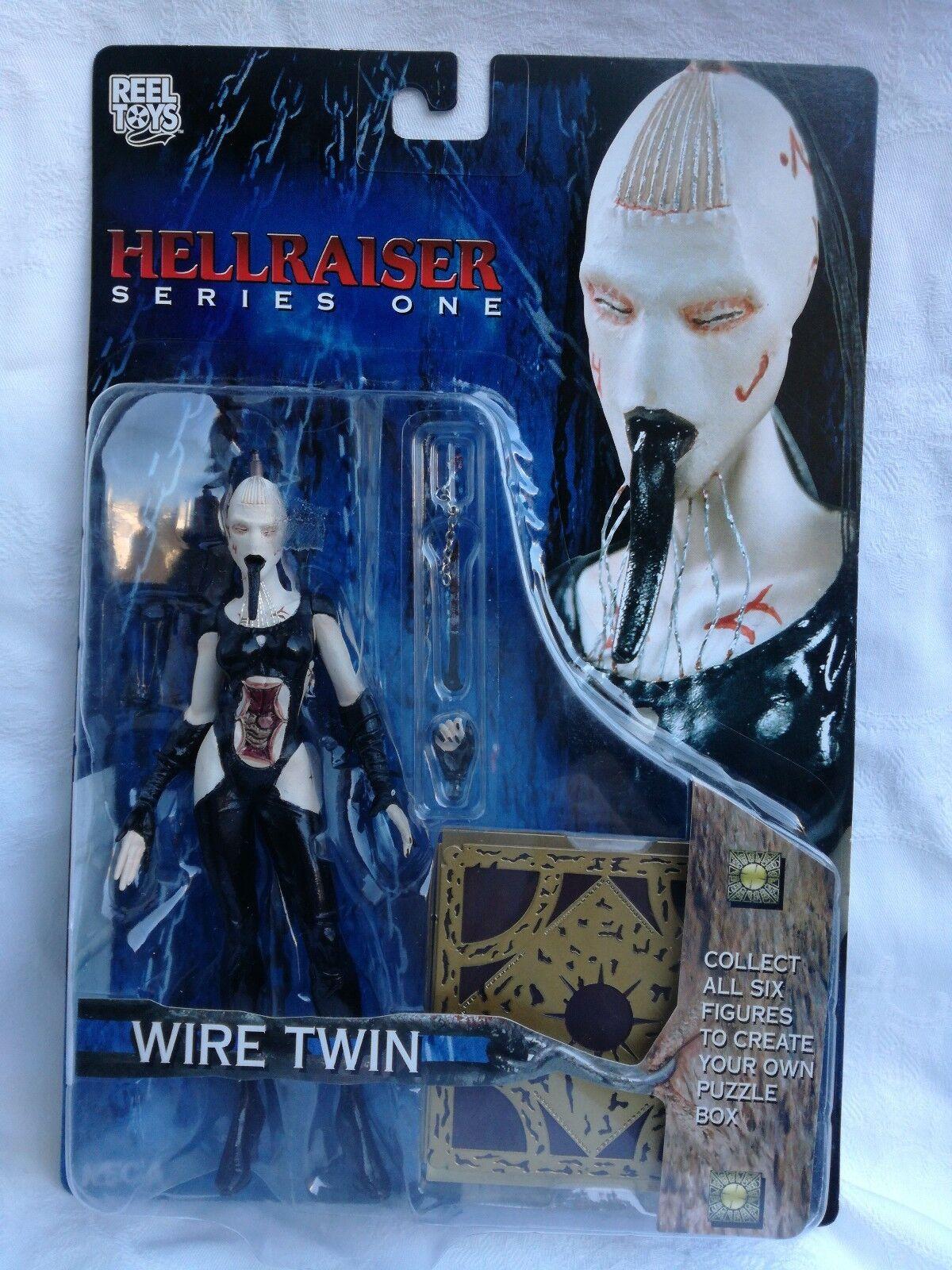 Hellraiser serie one Wire Twin action figure rara