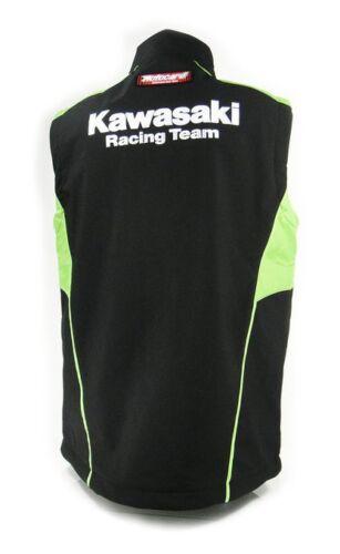 New Official Kawasaki Motorcard Team Race Wear Body Warmer 14 61506 Gilet