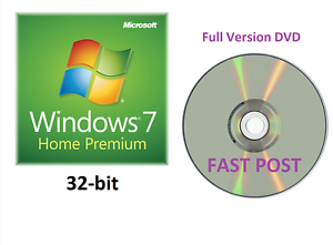 microsoft windows 7 home premium 32 bit dvd full version