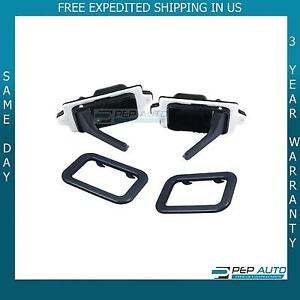 Bmw E30 318is 325es 635csi 524td 735i L6 M3 Interior Door Handle Amp Trim Set Ebay