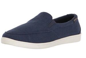 Crocs-Women-039-s-Citilane-Low-Canvas-Slip-On-Navy-Size-5-Euro-34-35