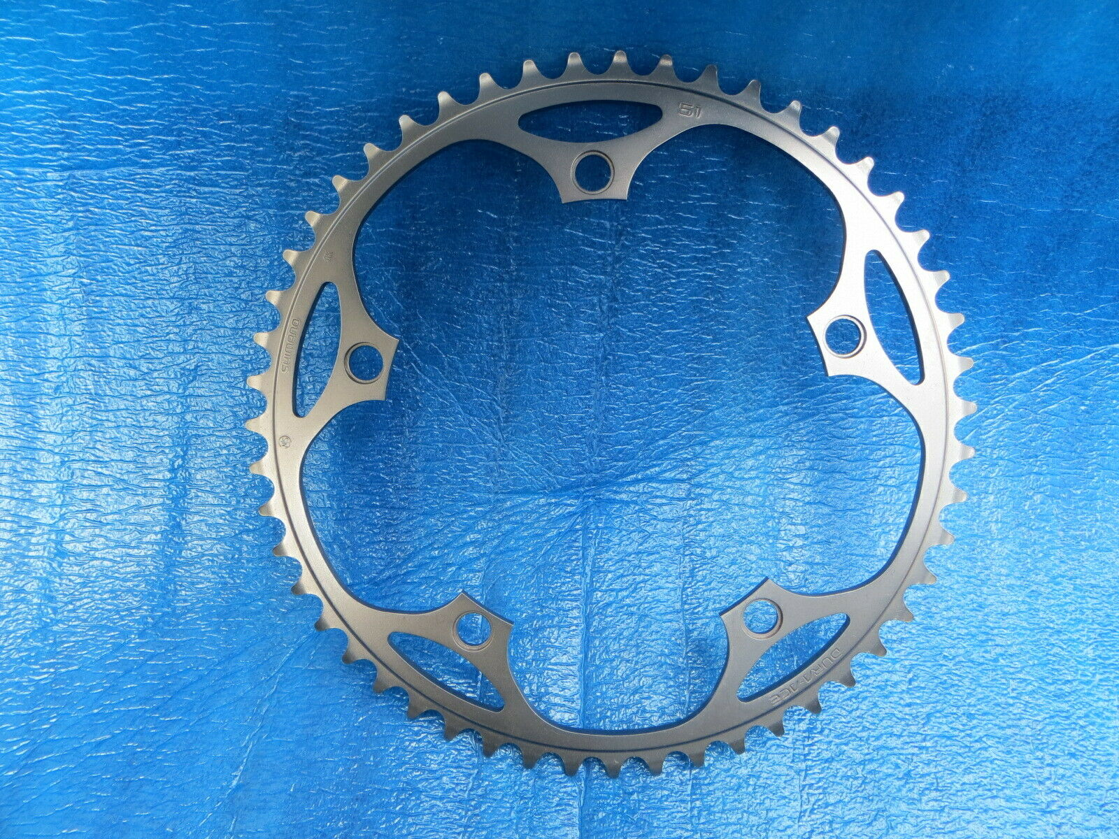 Shimano Dura Ace FC-7710 144BCD 1 8   NJS  Chainring 51T Fixed Gear  (19022214)  up to 60% off