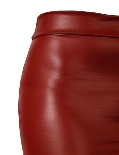 Women/'s Casual Basic Fitted Stretch Bodycon Plain Mini Pencil Skirt NEWSK09