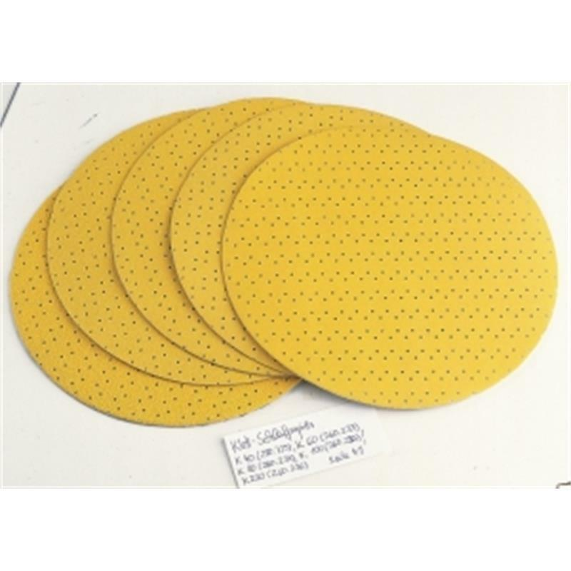 Flex Klett-Schleifpapier (perforiert) D225 PF-P100 VE25, 260.235