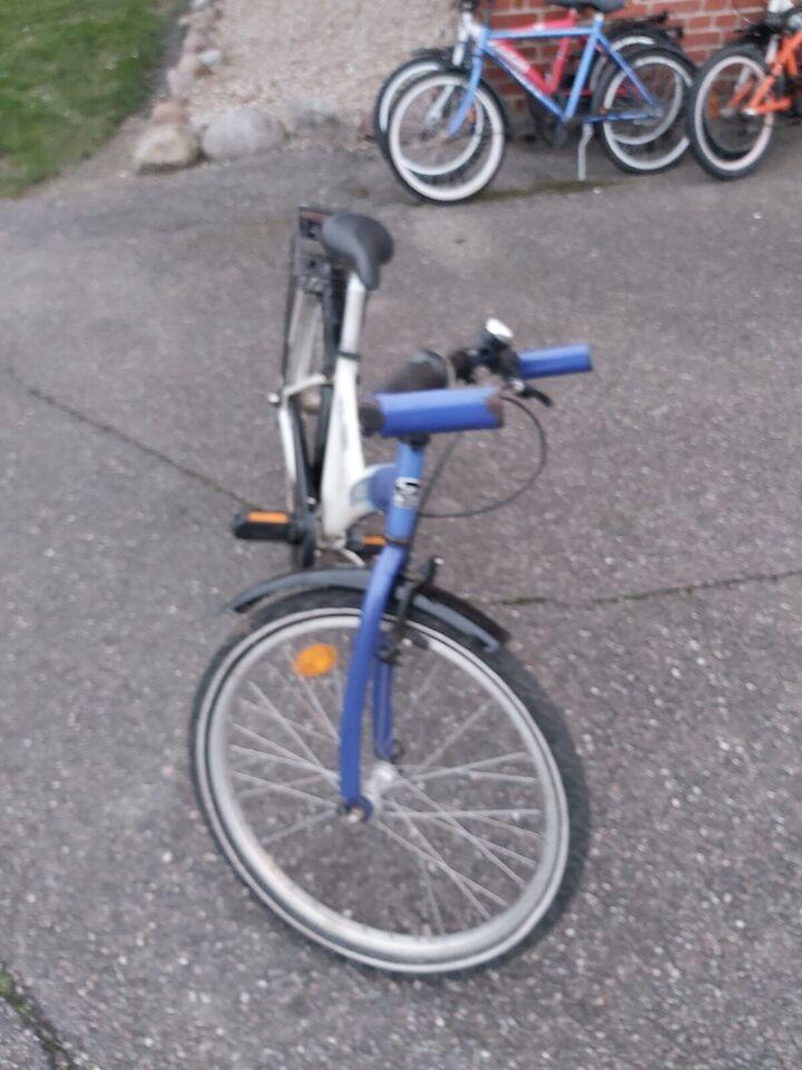 Unisex børnecykel, citybike, Mustang