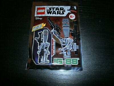 Lego Star Wars LIMITED EDITION IG-88 MINIFIGURE 911947 Brand New Sealed