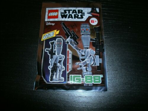 IG-88 Limited Edition Foil Pack 911947 Neuf POLYBAG LEGO STAR WARS
