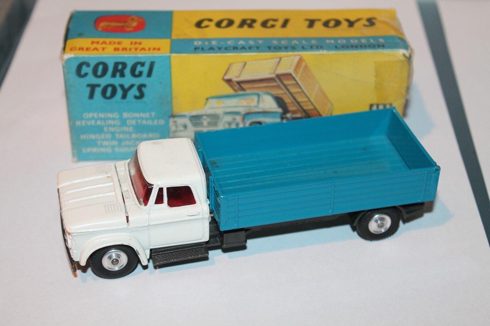 Corgi toys  Dodge Kew fargo tipper  1 43  original  1968