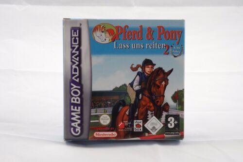 1 von 1 - Pferd & Pony: Lass uns reiten 2 (Nintendo Game Boy Advance) GBA Spiel in OVP