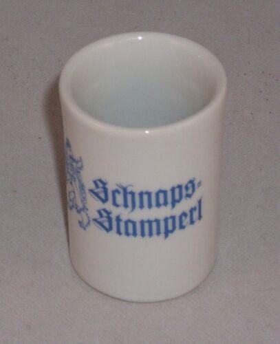 6 Königlich bayerische Schnapsstamperl Bayern-Herz Schnapsstamper Stamper