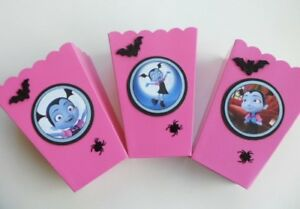 Image Is Loading Vampirina Party Favor Goody Bags Sweet Table Popcorn