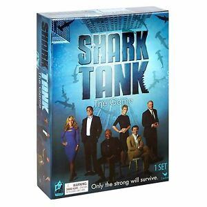 NEW SEALED SHARK TANK THE GAME ENTREPRENEUR BUSINESS INVESTMENT GAMES FAMILY