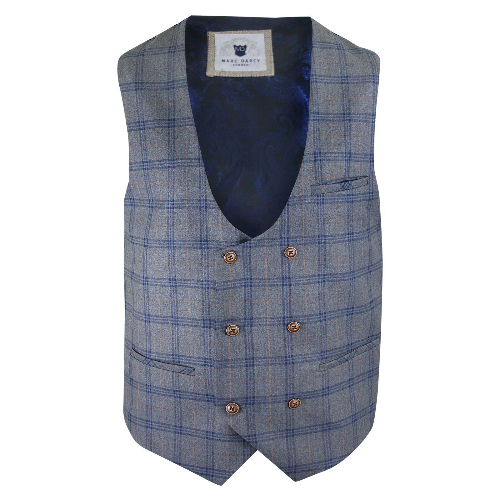 Marc Darcy Logan bluee Waist Coat