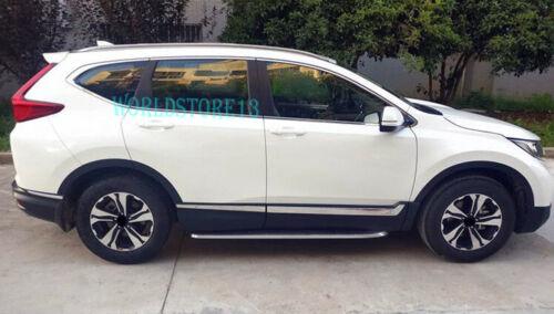 fits 2017-2019 Honda CR-V CRV Stainless Steel Body Side Door Molding Cover Trim