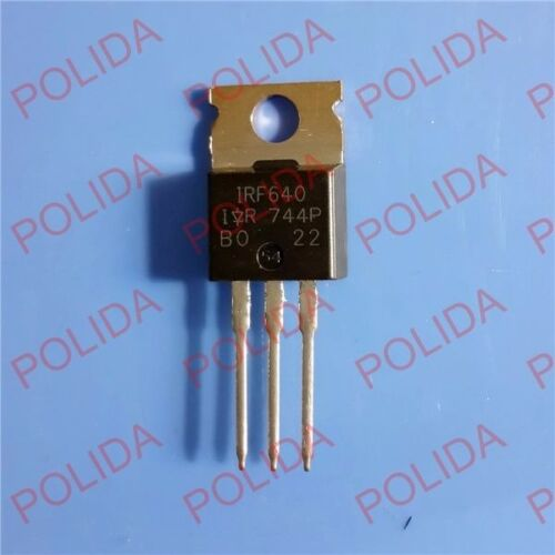 5PCS MOSFET Transistor IR//VISHAY TO-220 IRF640 IRF640PBF