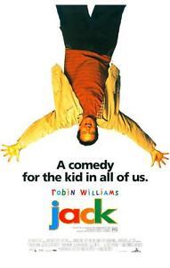 JACK Movie POSTER 11x17 B Robin Williams Bill Cosby Diane ...