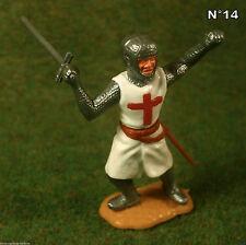 Timpo Toys Made in GT.Britain Kreuz Ritter mit Schwerd