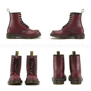 Dr. Martens - 1460 W | 11821600 - New - Womens Boots | Cherry Red ...