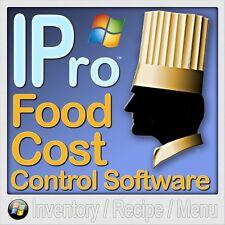 IPro 40 Restaurant Inventory, Recipe & Menu Costing Software (Windows)
