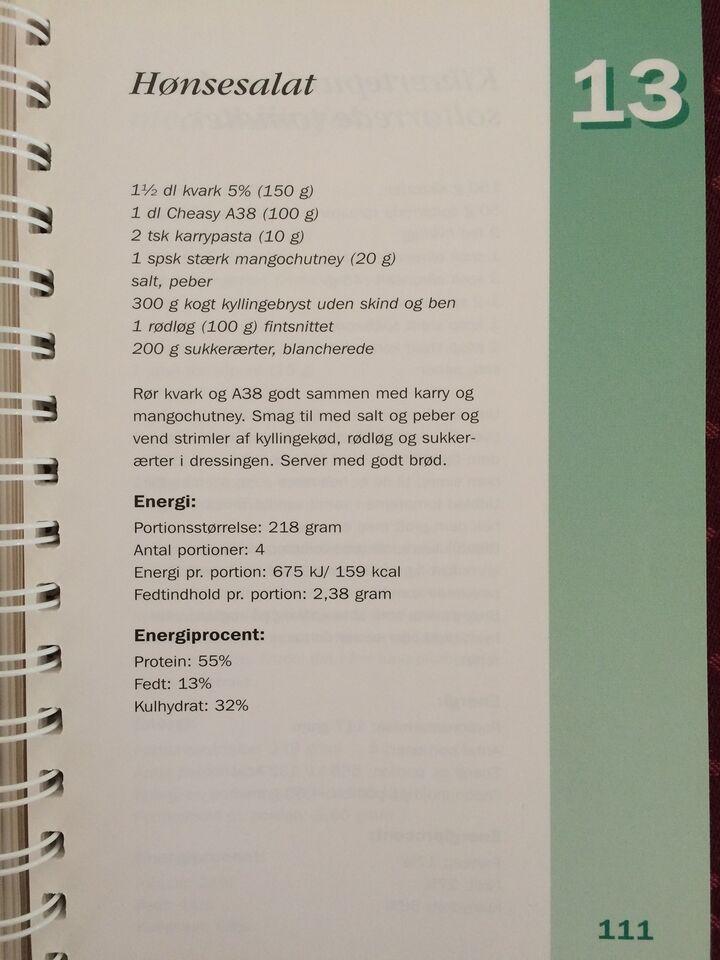 Slanketabel og 100 opskrifter til et slankere liv, A.