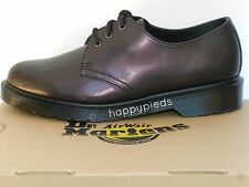 Dr Martens 1461 Chaussures Femme 39 Derby Tracer Richelieu 3 eye Violet UK6 Neuf