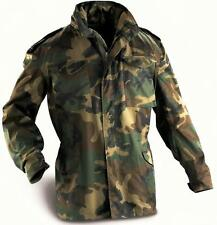 M65 Woodland Camo Jacket - New Croatian Military / Army Surplus Item - Tag 56