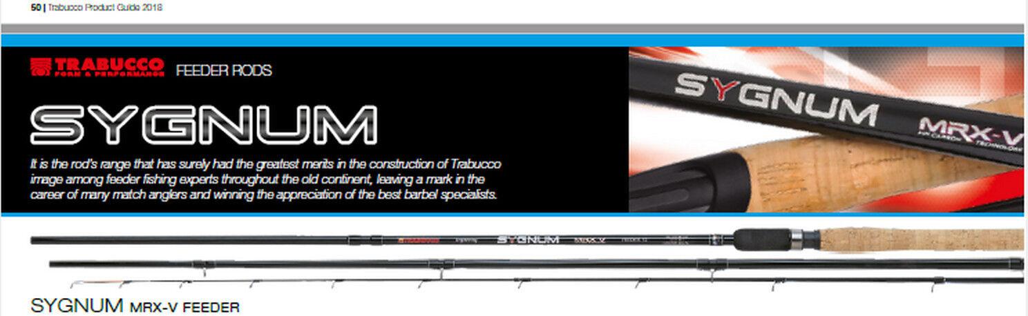 Trabucco latest 2019 Sygnum TXL Feeder rods  90g MH 3 Lengths 3 carbon tips