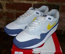Mens Nike Air Max 1 Blue Recall Tour Yellow White Grey