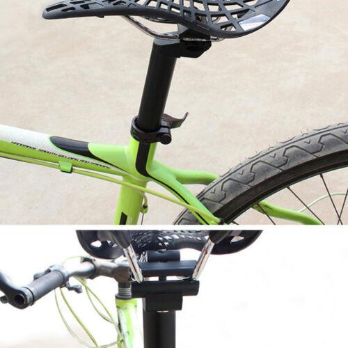 Black Aluminum Alloy Metal Mountain Bike Saddle Seat Tube Bicycle Seatpost r.