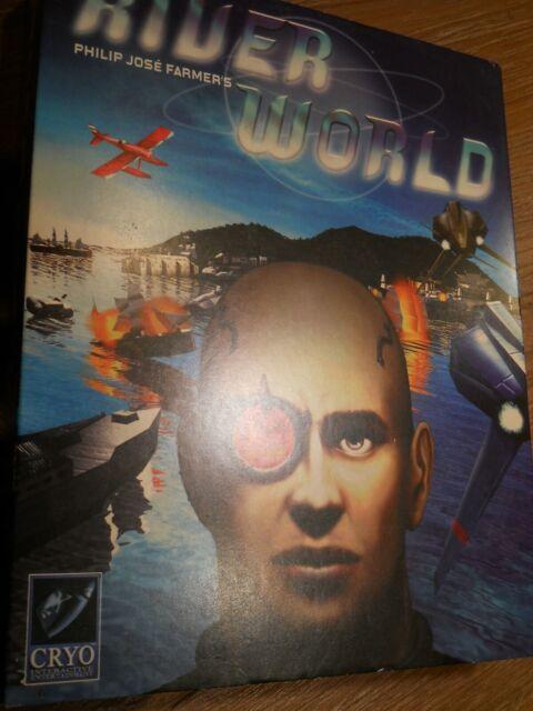 River World ~ BIG BOX ~ Windows 95 (PC CD-ROM Game, 1998) Riverworld COMPLETE!