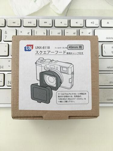 UN hood square hood 49MM UNX-8118 Japan Import