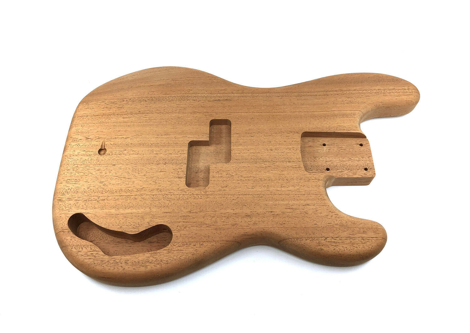 Solo Pro PB Style 1Pc Mahogany Sanded & Unfinished Bass Body