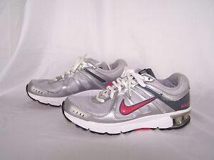 Nike Reax Rocket Women's Pink Gray Running Shoes Size 7.5