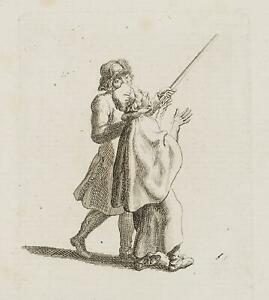 Chodowiecki (1726-1801). il supplica Vogt; pressione grafico 1