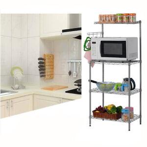 3-Tier-Kitchen-Baker-039-s-Rack-Microwave-Oven-Stand-Storage-Cart-Workstation-Shelf