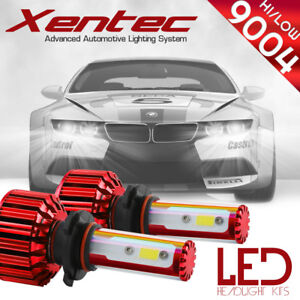 XENTEC LED HID Headlight kit 9004 HB1 White for 1990-1995 Volkswagen Corrado