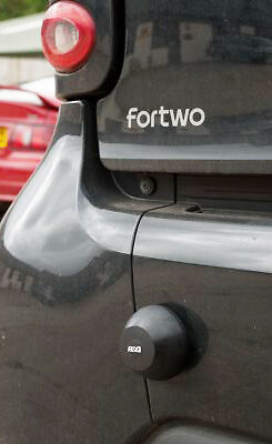 R/&G Racing Rear Bumper Bump Stops to fit Smart Fourtwo /& Fourtwo Cabriolet