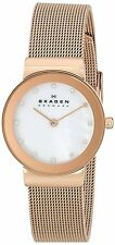 Skagen Women's 358SRRD 'Freja' Crystal Rose-Tone Stainless steel Watch