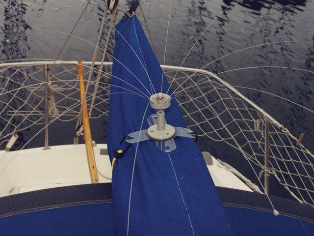 Barrido-Barco Bote De Pájaros PÁJARO disuasivo 8' Diámetro & Barco Base-mantener aves Away