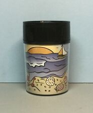 Starbucks (Beach Theme) 8oz. Acrylic Thermo-Serv Tumbler (1997) HTF