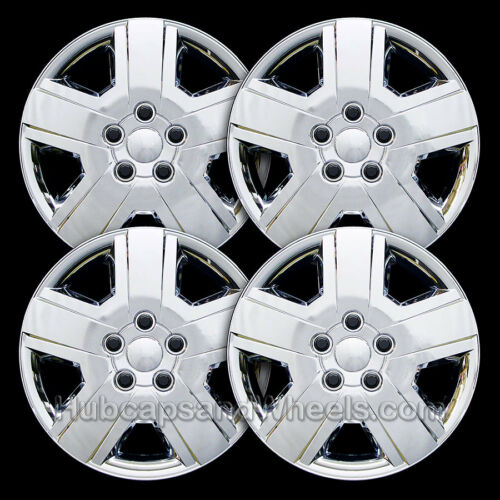 """Set of 4-8029 All Years Universal Chrome 16/"""" Hubcap"""