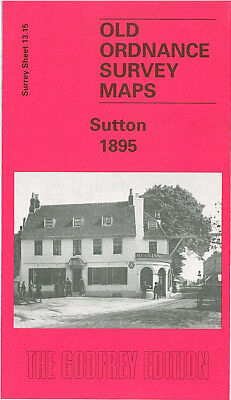 Old Ordnance Survey Detailed Maps Richmond  Surrey 1911  Sheet 6.04 Brand New