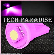 2x Ampoule T10 / W5W / W3W LED 1 SMD 5050 Rose Pink veilleuse lampe light 12V