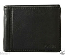 Fossil Original ML3254001 Black Ingram Traveler Leather Men's Wallet