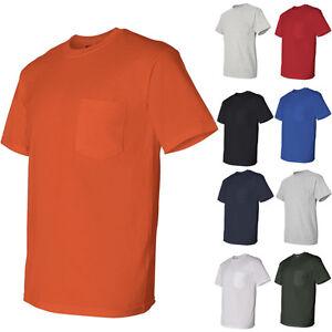 Gildan-DryBlend-Mens-50-50-Short-Sleeve-Tees-T-Shirt-with-a-Pocket